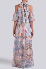 Quartz Printed Dress