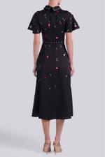 Saturn Collar Dress