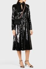Avril Sequin Midi Dress