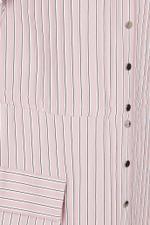 Striped Twill Anorak Dress