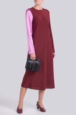Colour Block Long Sleeve Dress