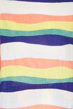 Neil Stripy Linen T-Shirt
