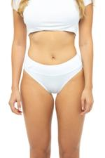 Classic Low Waist Panty - White