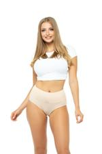 Classic High Rise Panty - Beige