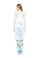Tropical Printed 3-Piece Cotton Pajama Set