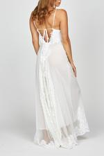 Dahlia Bridal Nightdress & Robe Set - White