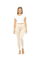 Long Leggings - Beige