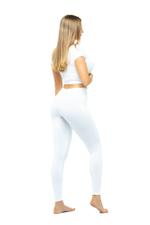 Long Leggings - White