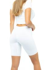 Short Leggings - White