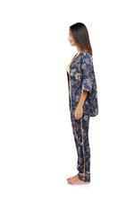 Printed Long 3-Piece Pyjama Set
