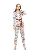 Printed Long Pyjama Set