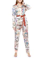 Printed Long Pyjama Set