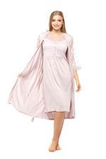 Dantel Lace Robe - Rose Pink
