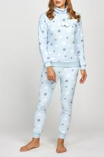 Fleece Star Pyjama - Blue