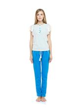 Cotton Pyjama Set - Sky Blue