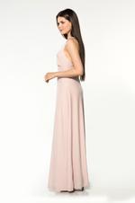 Long Velvet Nightdress - Rose