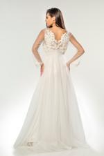 Bridal Satin & Lace Nightdress & Robe Set - White