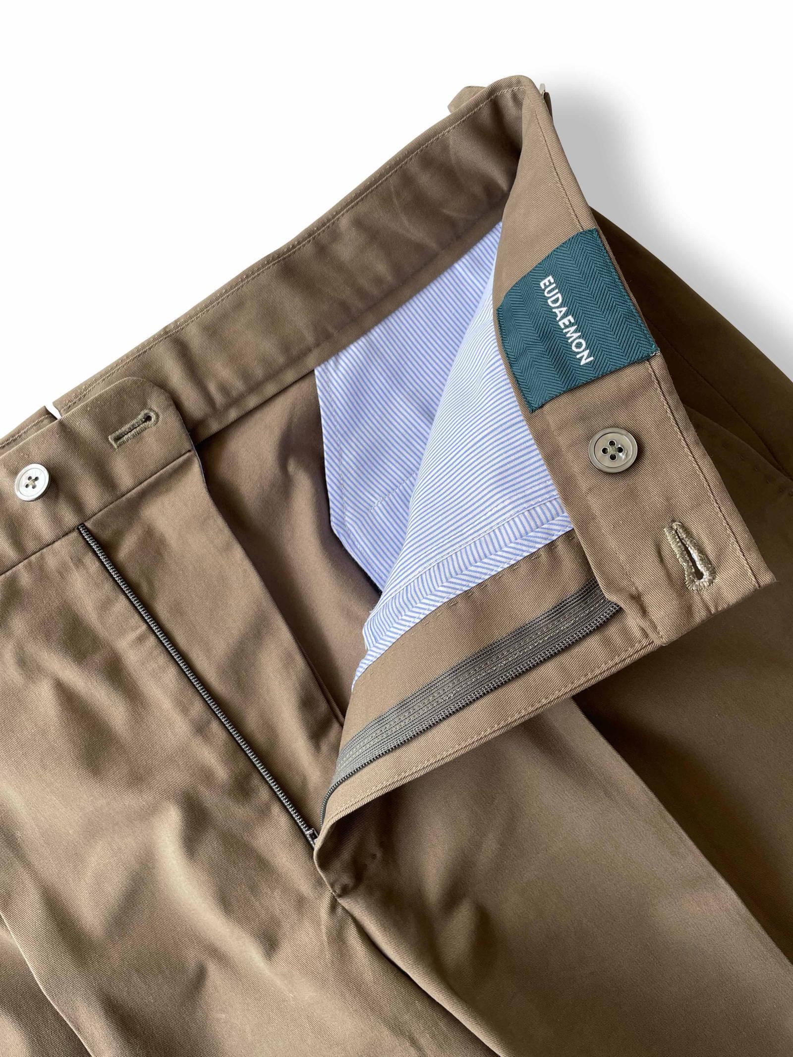 Worko Shorts - Brown Cotton