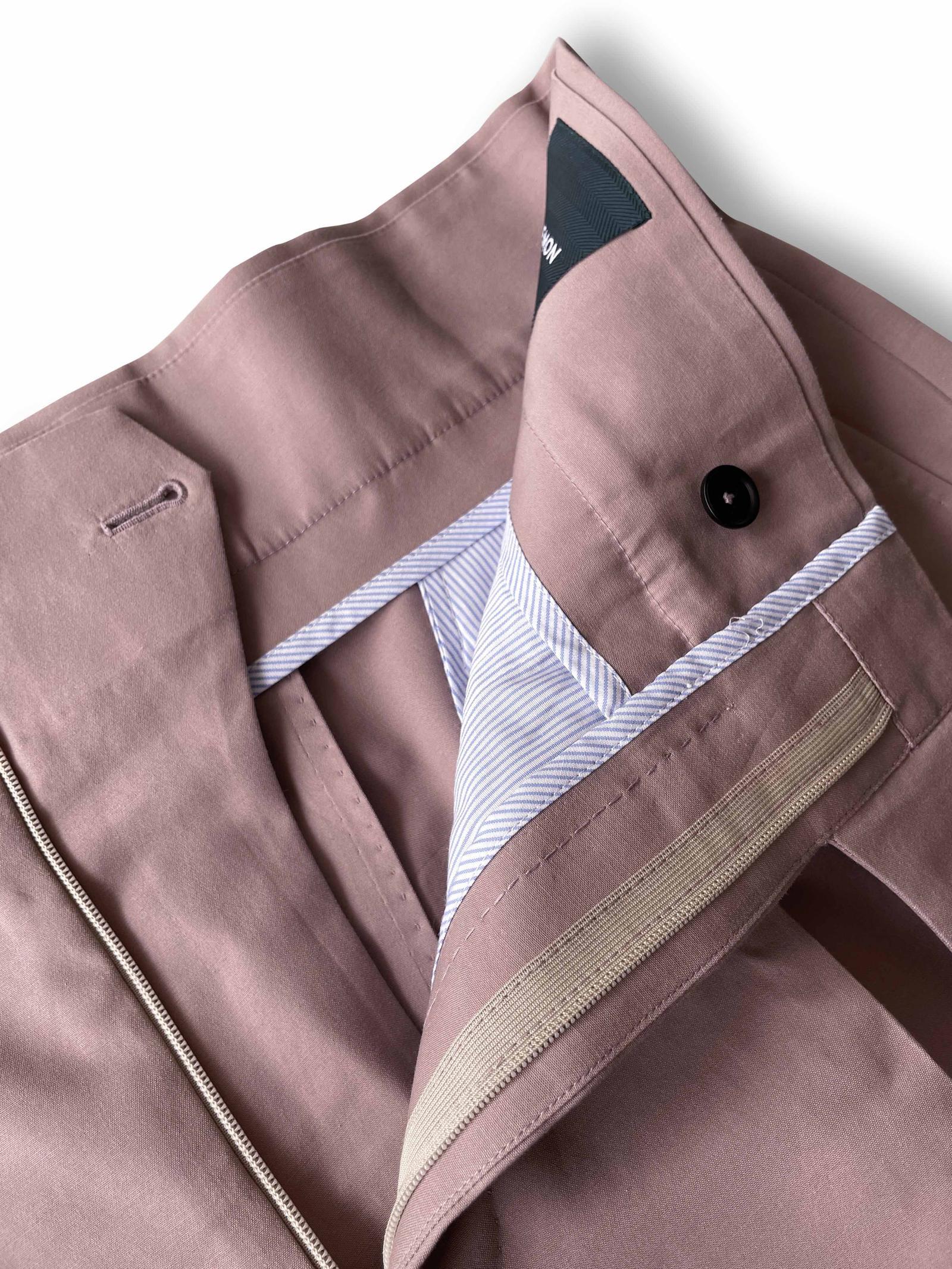 Gurkha Shorts - Mauve Cotton