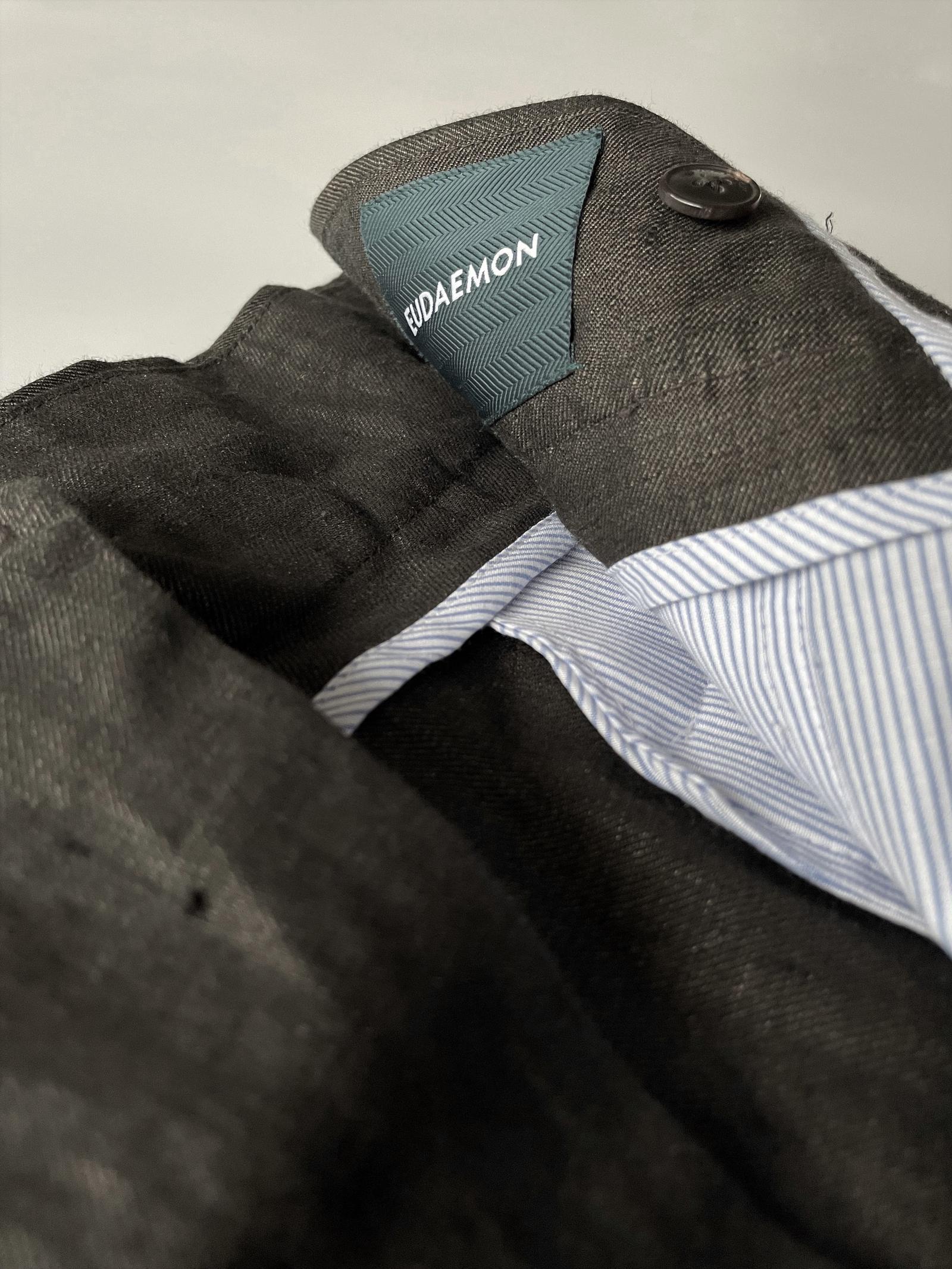 Gurkha Shorts - Iced Americano Linen