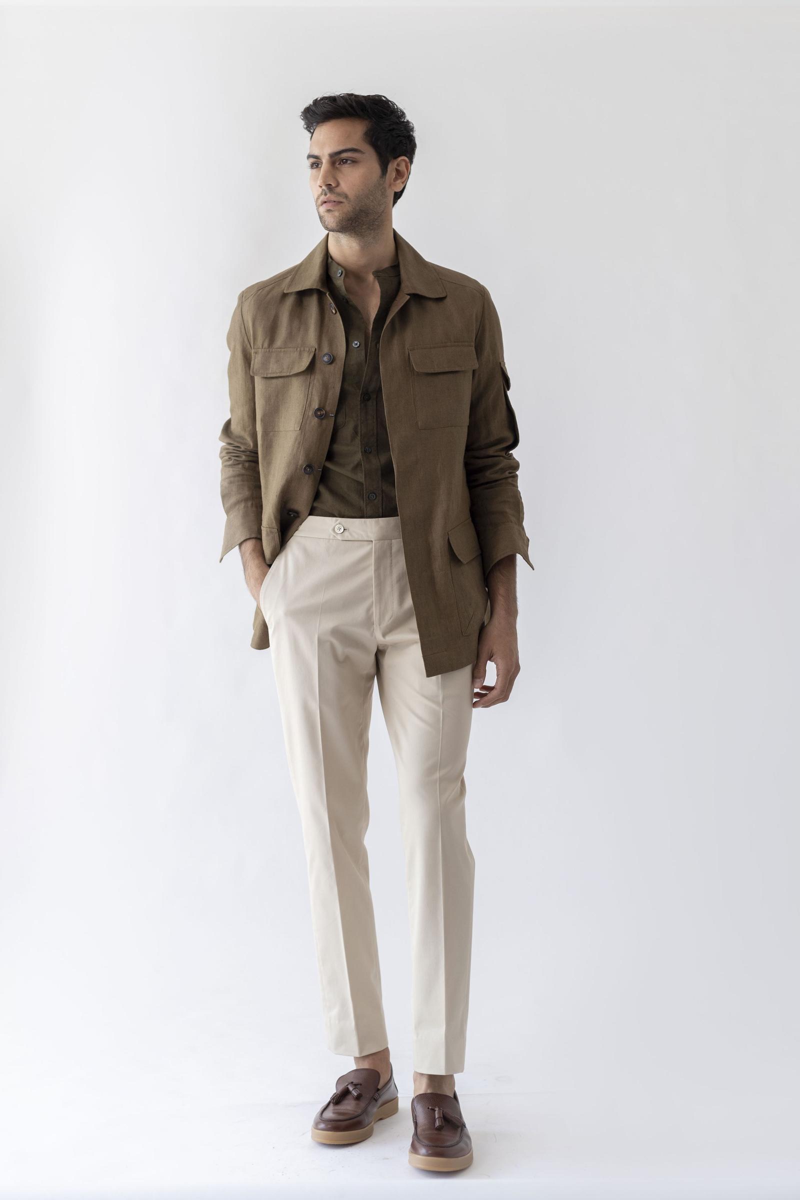 Worko Trouser - Milk Cotton