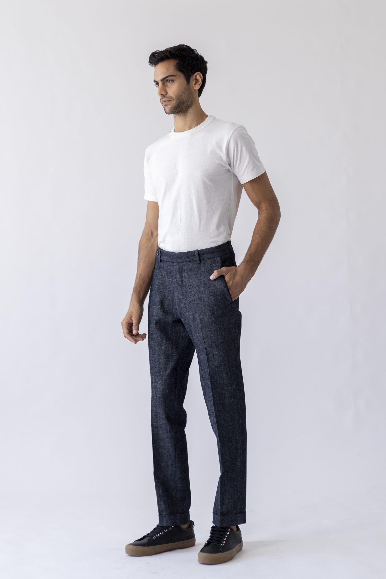Worko Trouser - Denim Cotton
