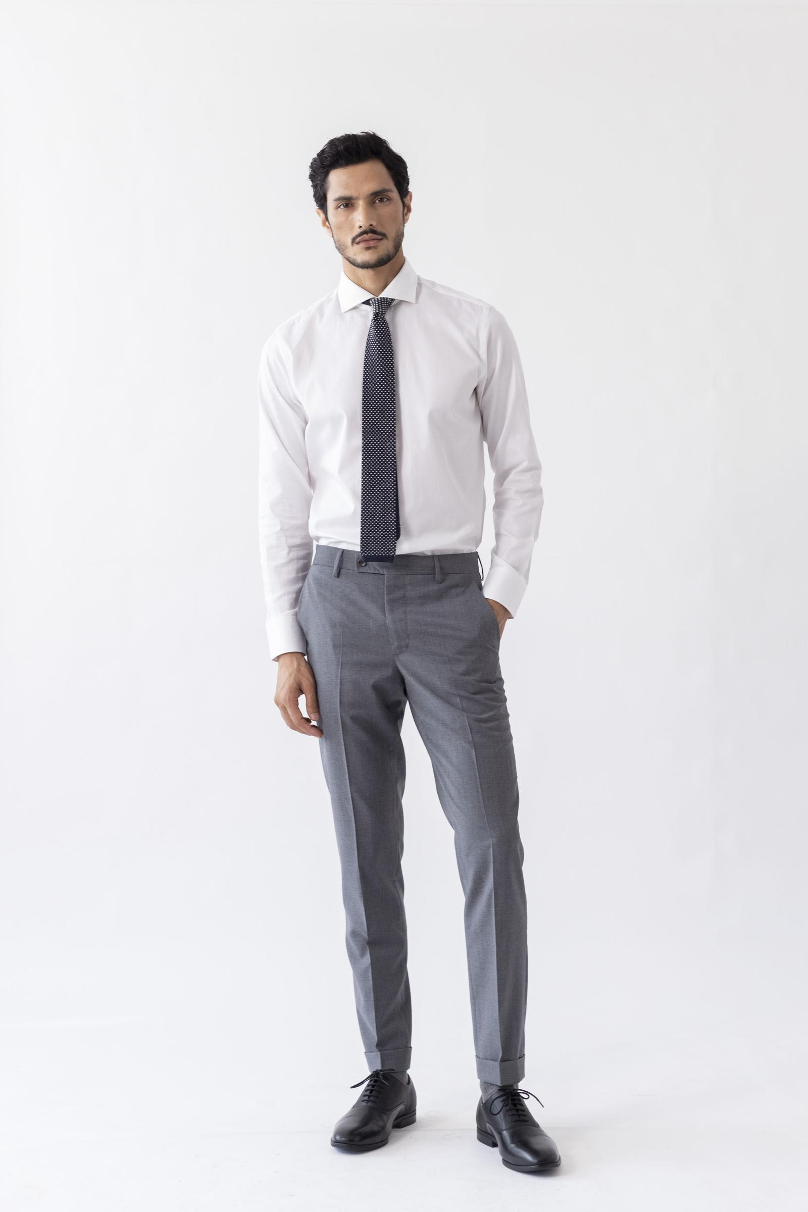 Worko Trouser - Grey Merino