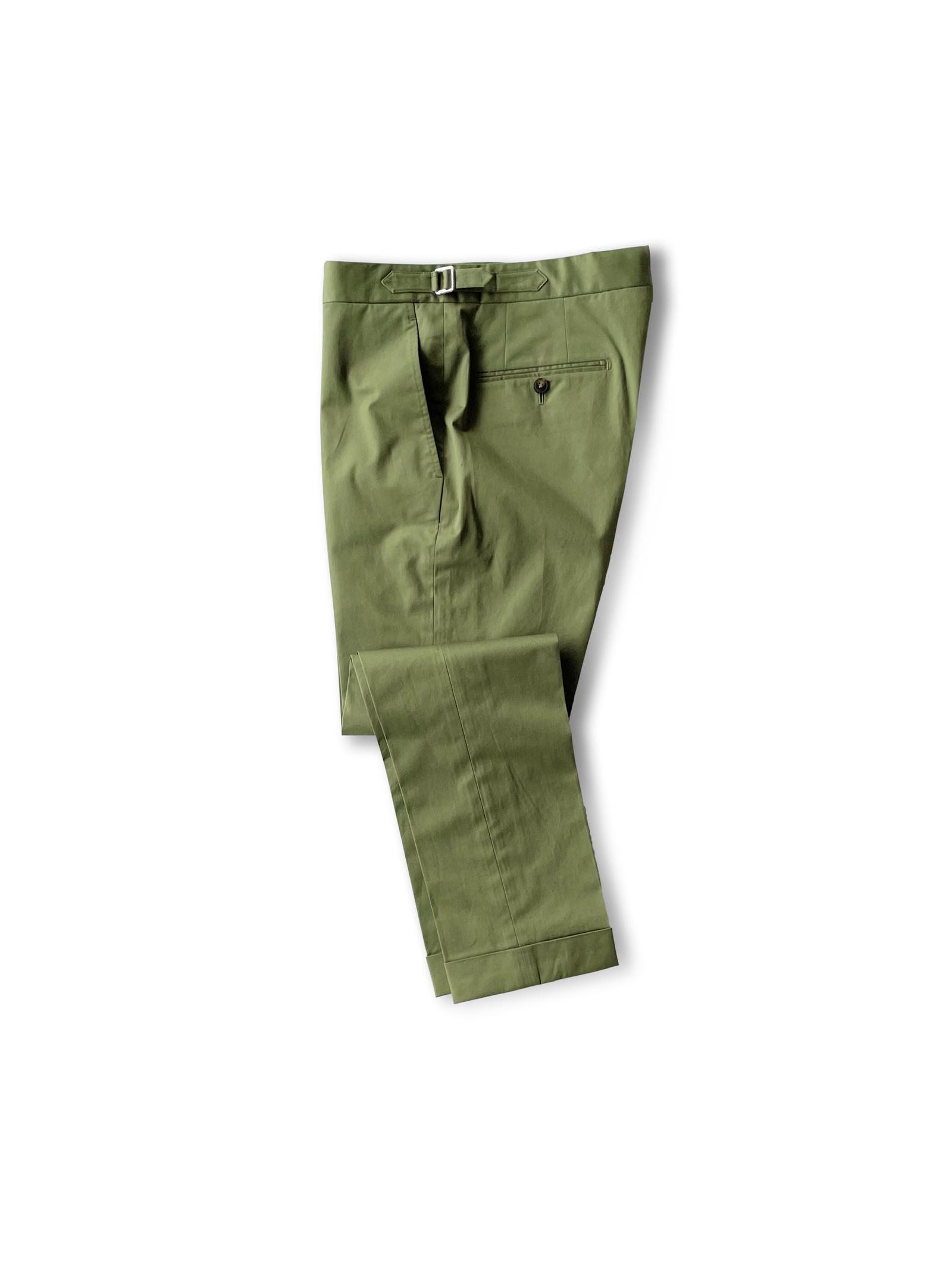 Olive Suit - Cotton