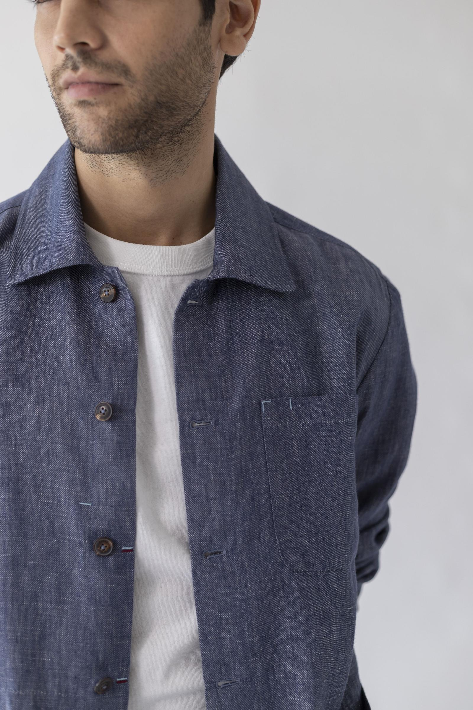 The All Day Masters Jacket - Melange Linen