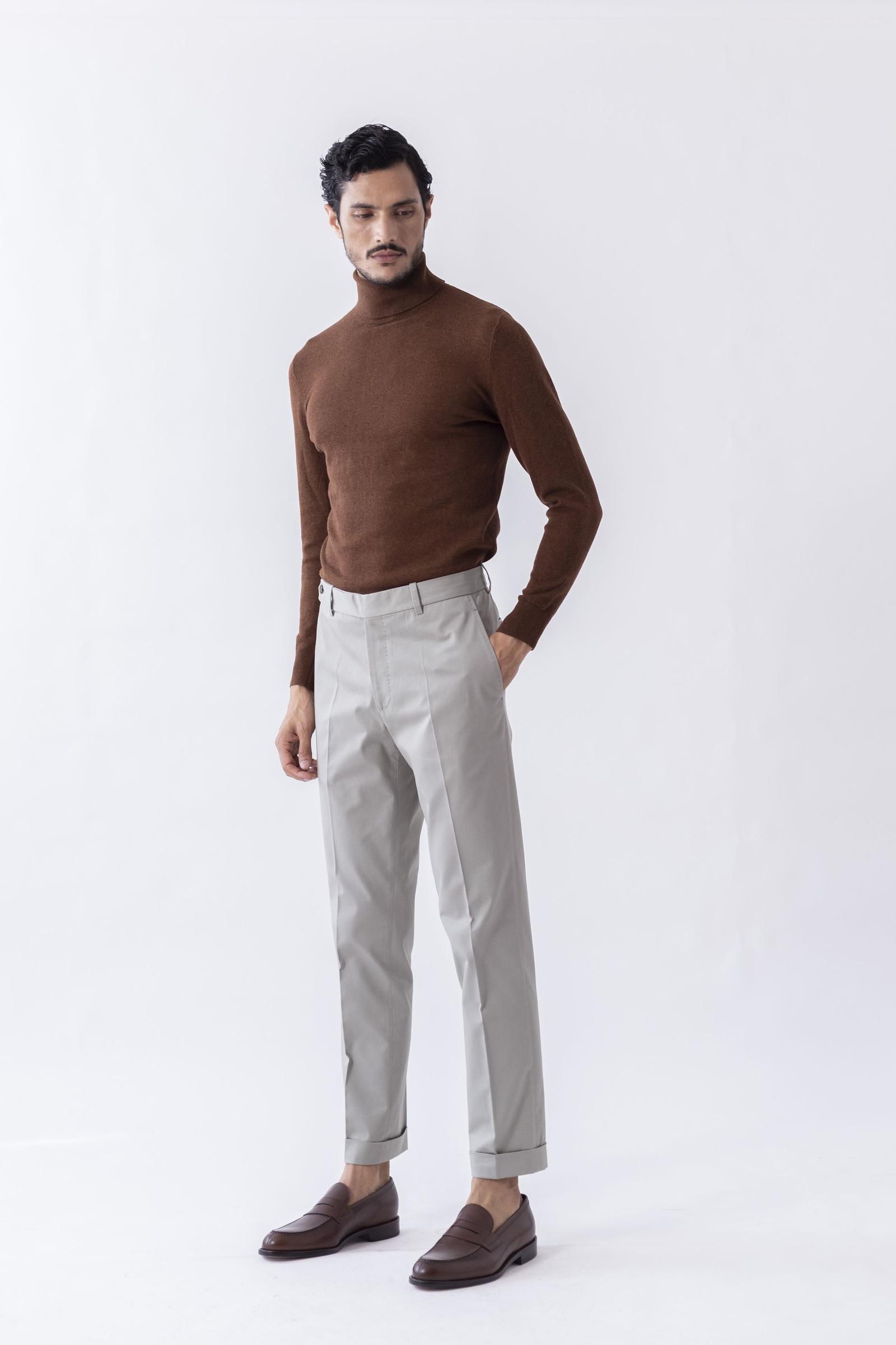 Worko Trouser - Sage Cotton