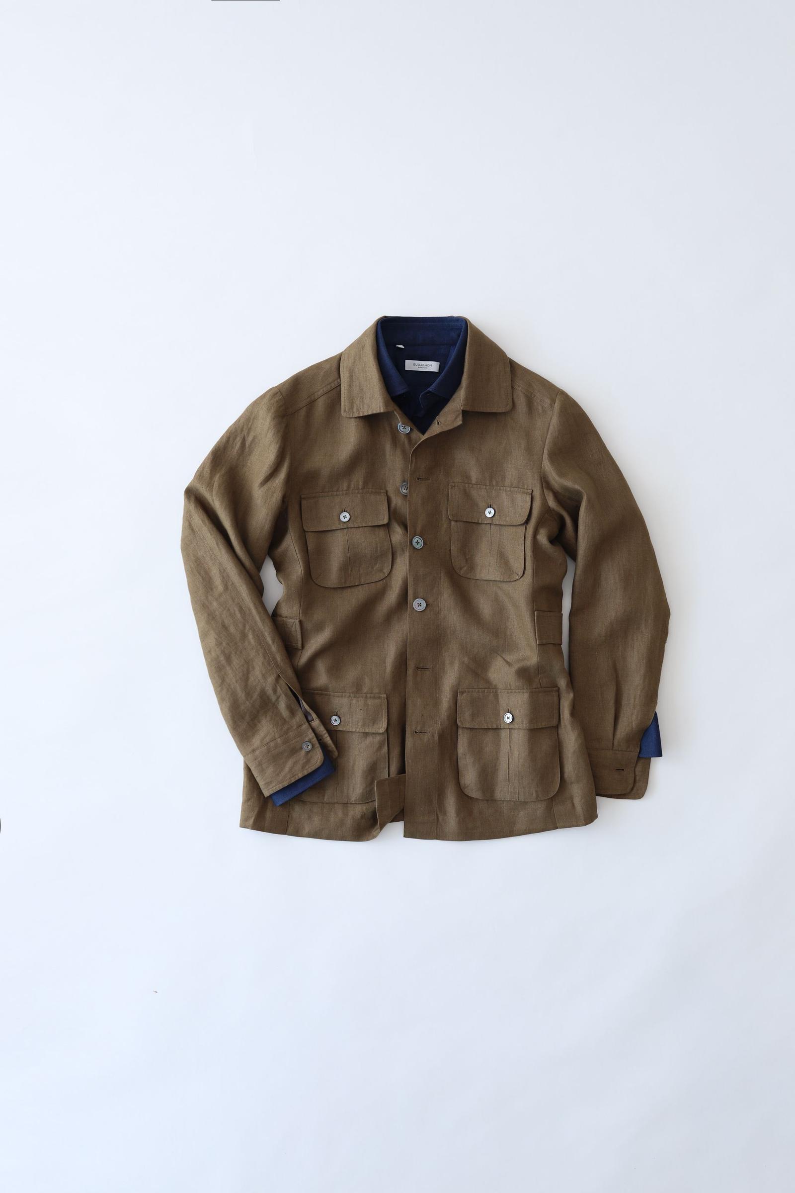 Tropical Safari Jacket - Khaki