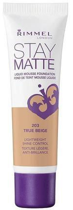 Rimmel London Stay Matte Liquid Mousse Foundation True Beige