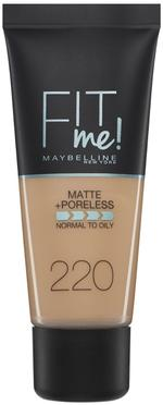 Maybelline Fit Me Matte Poreless- 220 Natural Beige