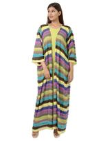 Noir Couture Multicolored Abaya with Dress (NC009)