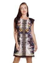 Fifth Season London Black & White Printed Short Evening Dress (FS0037)