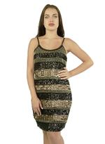 Fifth Season London Black & Gold Short Evening Dress (FS0123)