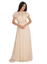 Fifth Season London Off White Evening Dress (FS0108)