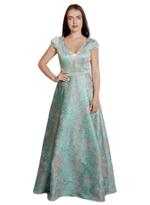 Si Fashion Galerie Blue Evening Gown (02009)