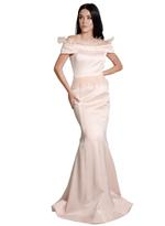 Si Fashion Galerie Pink Evening Gown (04008)