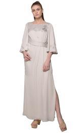 Mandira Wirk Pearl Grey Dress (MW/SS-18/DR-002)