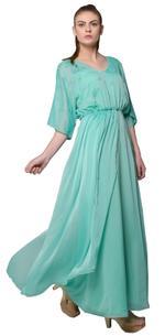 Mandira Wirk Aquamarine Dress (MW/SS-18/DR-003)
