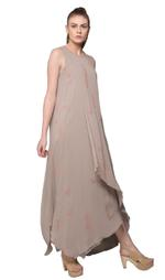 Mandira Wirk Grey Dress (MW/SS-18/DR-006)
