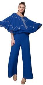 Mandira Wirk Royal Blue Jumpsuit (MW/SS-18/JS-004)