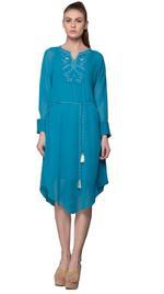 Mandira Wirk Blue Dress (MW/SS-18/TS-003)