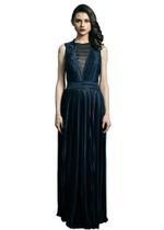 Mandira Wirk Ink Blue Gown (MWJD-001)