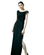 Mandira Wirk Black Gown (MWJD-016)