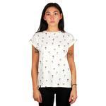Dedicated Off-White Printed Round Neck Organic Cotton T-shirt (16430)