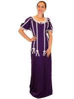 Livia Fashion by Unique Designer Purple Nightwear Kaftan (1234561139)