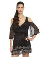 LoveGen Black Bandhani Print Dress (IB-1)
