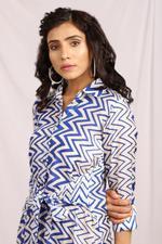 Cocktail House Blue Tie knot short Dress (CH0300)